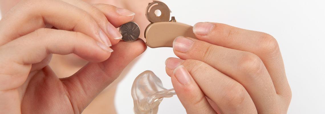 piles pour appareils auditifs