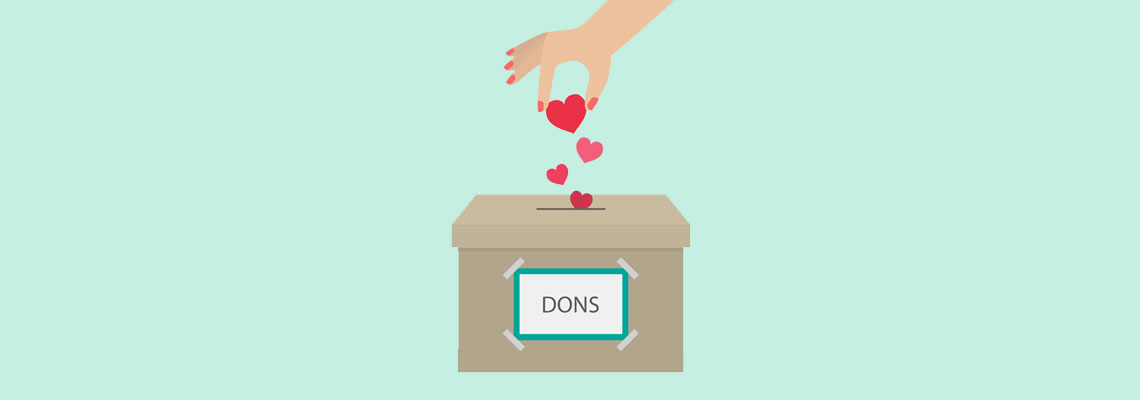 don à une association